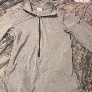 Nike pro dry fit half zip